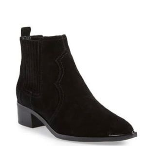 Marc Fisher Suede Ankle Book